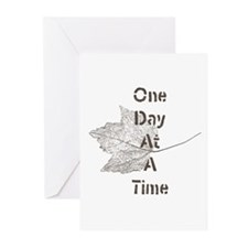 One Day at a Time Greeting Cards