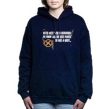 Geocaching - never mess Hooded Sweatshirt