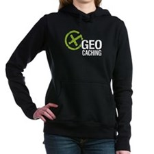 Geocaching Green Grunge Hooded Sweatshirt