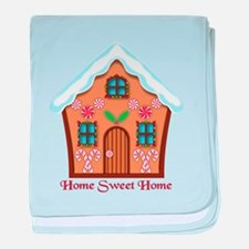 Home Sweet Home baby blanket