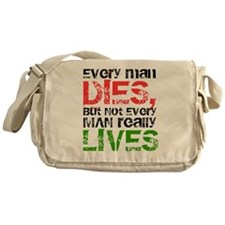 William Wallace Braveheart Quote Messenger Bag