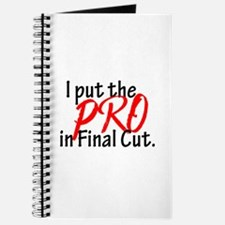 I Put The PRO In Final Cut Journal