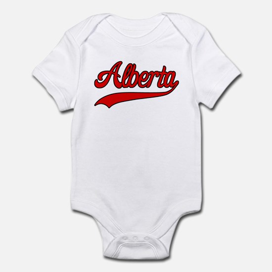 Retro Alberta Infant Bodysuit