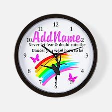 DAZZLING DANCER Wall Clock