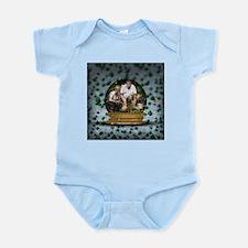 Personalizable Snowglobe Photo Frame Infant Bodysu