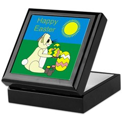 Happy Easter Keepsake Box