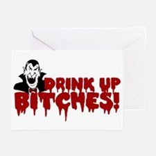 Dracula's Halloween Party Greeting Cards (Package