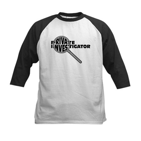 Private Investigator Kids Baseball Jersey