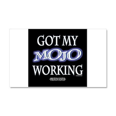 Mojo Working Car Magnet 20 x 12