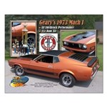 G Hoover 16 X 20 Mustang Poster