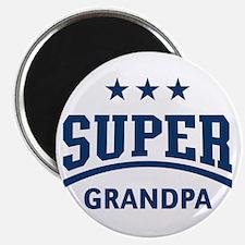 Super Grandpa (Blue) Magnet