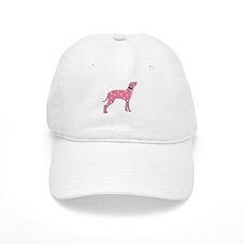 Pink Dalmatian Baseball Cap