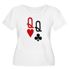 Pocket Queens Poker T-Shirt