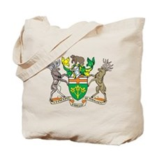 Ontario Coat Of Arms Tote Bag