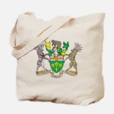Ontario Coat Of Arms Tote Bag