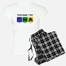 Custom Eat Sleep Save pajamas