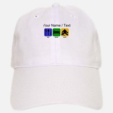 Custom Eat Sleep Save Baseball Baseball Cap