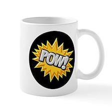 Comic Book Burst Pow! 3D Mugs