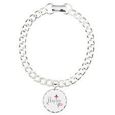 TVD Team HAYLEY silver red Bracelet