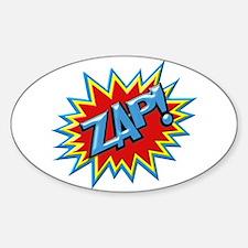 Comic Book Burst Zap! 3D Decal