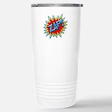 Comic Book Burst Zap! 3D Travel Mug