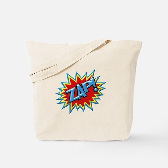 Comic Book Burst Zap! 3D Tote Bag