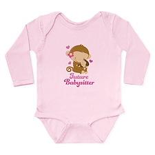 Future Babysitter Long Sleeve Infant Bodysuit