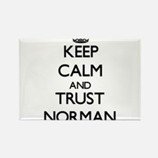 Keep calm and Trust Norman Magnets