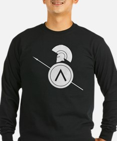 Ancient Greek warrior Long Sleeve T-Shirt