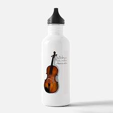 violarealisticlarge Water Bottle