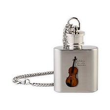 violarealisticlarge Flask Necklace