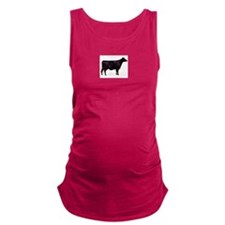 Angus Beef Cow Maternity Tank Top