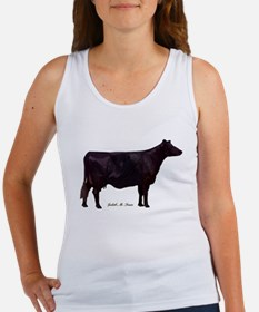 Angus Beef Cow Women's Tank Top