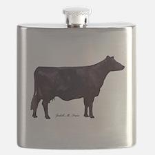 Angus Beef Cow Flask