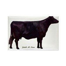 Angus Beef Cow Rectangle Magnet (10 pack)