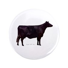 "Angus Beef Cow 3.5"" Button"