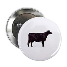 "Angus Beef Cow 2.25"" Button (10 pack)"