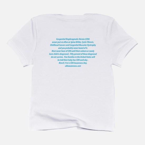 Mustache Madness for CDH Awareness! Infant T-Shirt