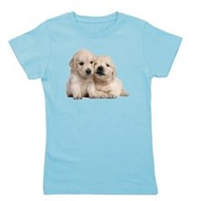 Golden Retriever Girl's Tee