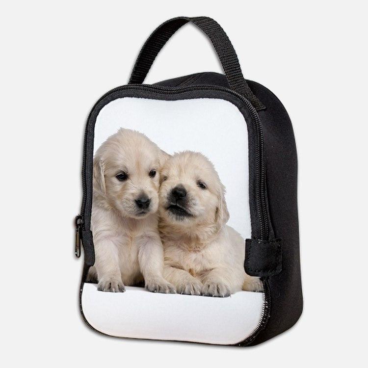 Golden Retriever Neoprene Lunch Bag