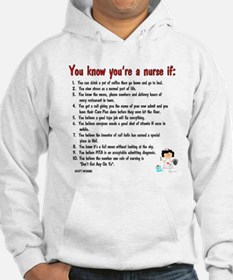 You're A Nurse If..Version II Jumper Hoody