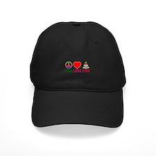 Peace Love Cayman Islands Baseball Hat