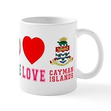 Peace Love Cayman Islands Mug