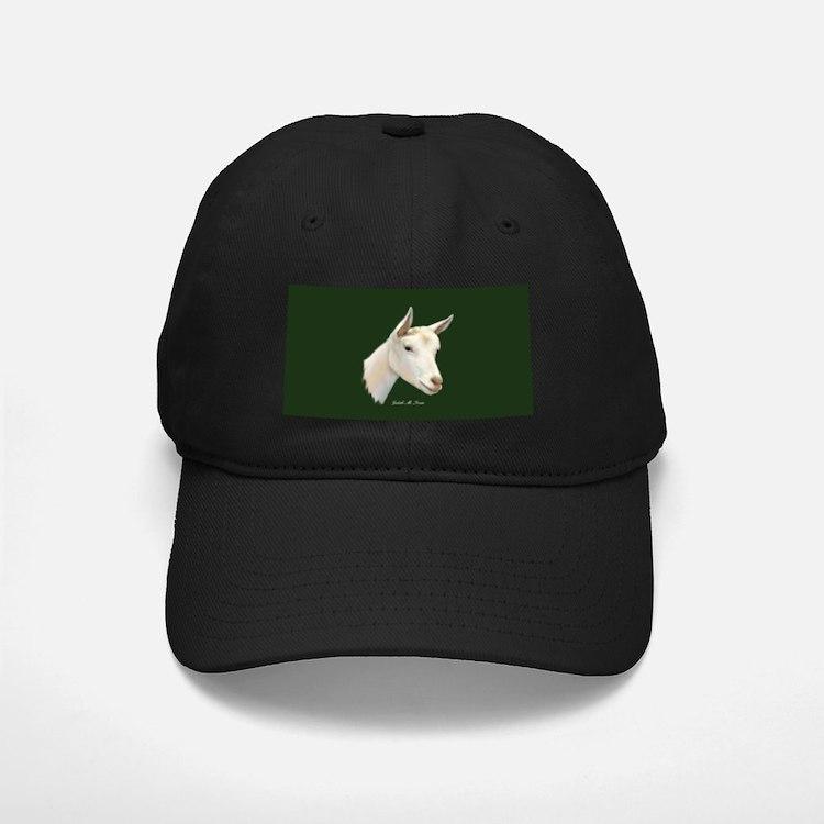 Saanen Dairy Goat Baseball Hat