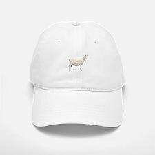 Saanen Dairy Goat Baseball Baseball Cap