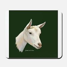 Saanen Dairy Goat Mousepad