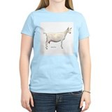 Saanen dairy goat Women's Light T-Shirt