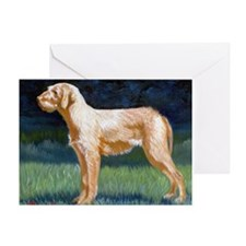 Hungarian Wirehaired Vizsla Greeting Cards