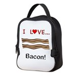 I Love Bacon Neoprene Lunch Bag