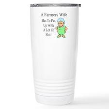 Farmers Wife Travel Mug